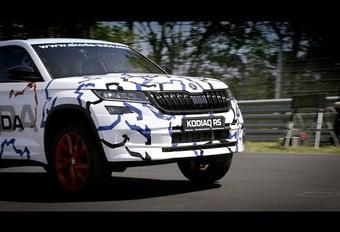 Skoda Kodiaq RS gaat voor record op Nürburgring #1
