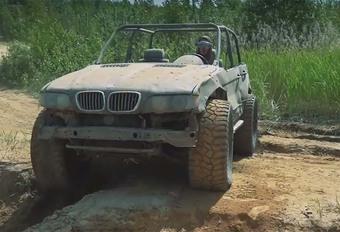INSOLITE – Au volant du BMW X5 « buggy » #1
