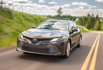 Toyota Camry maakt Europese comeback als Hybrid #1