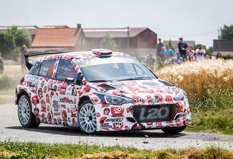 Thierry Neuville wint voor eigen volk ook Ypres Rally #1