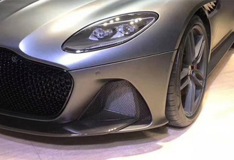 Aston Martin DBS Superleggera : image en fuite #1
