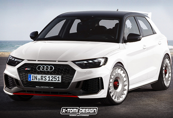Krijgt de S1 het gezelschap van een Audi RS1? #1