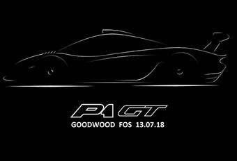 Lanzante bouwt McLaren P1 GT Longtail #1