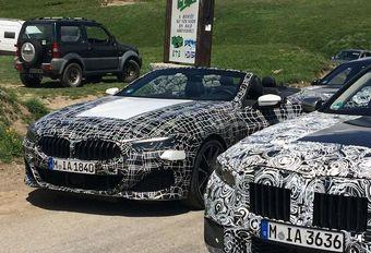 BMW 8-Reeks Cabrio betrapt op de Col d'Allos #1