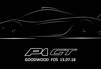 McLaren P1 GT: uniek model in Goodwood #1