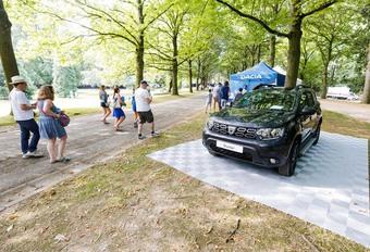 Dacia: Le premier pique-nique belge est une réussite #1