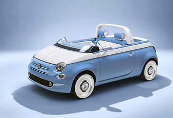 Fiat 500 Spiaggina: concept voor productie en speciale reeks #1
