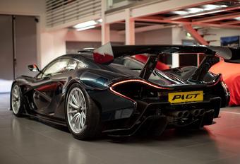 Lanzante is klaar met de McLaren P1 GT Longtail #1