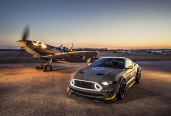 Eagle Squadron Ford Mustang RTR spuwt vuur #1