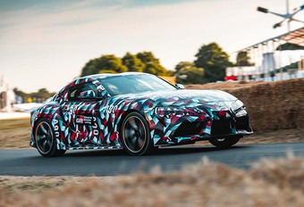 Goodwood 2018: Toyota Supra: 520 Nm en amper 1.500 kg #1