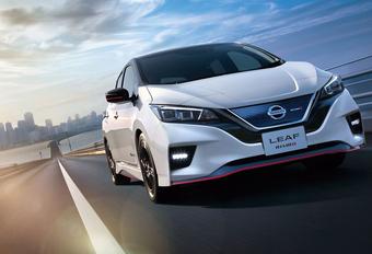 Sportieve Nismo-behandeling voor de Nissan Leaf EV #1