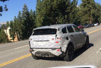 Range Rover Evoque: langere wielbasis #1