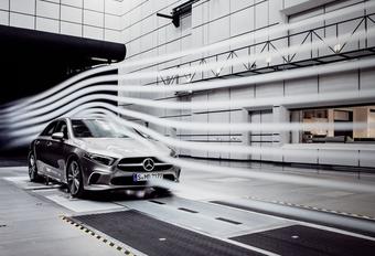 Mercedes : la berline Classe A, reine de l'aéro #1
