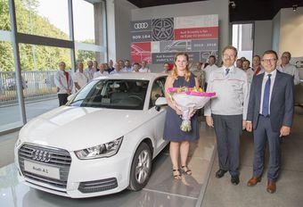 Brussel neemt afscheid van Audi A1 #1