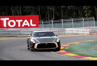 La Nissan GT-R50 à Spa-Francorchamps #1