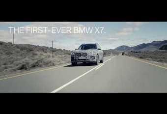 VIDÉO - BMW X7 : les tests des protos en images #1