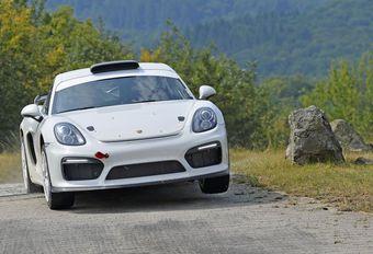 Porsche werkt aan Cayman GT4-rallywagen #1