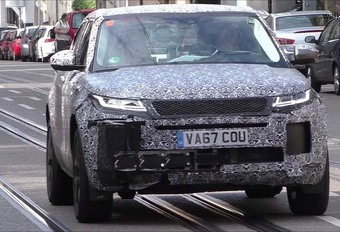 VIDEO – Range Rover Evoque 2019 : en gestation #1