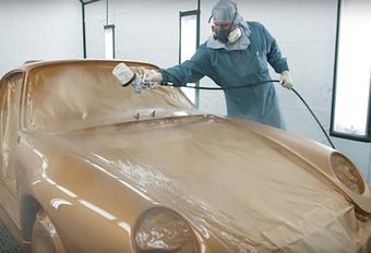 Pebble Beach 2018 – Porsche 911 Project Gold met 3.6 uit 993 #1