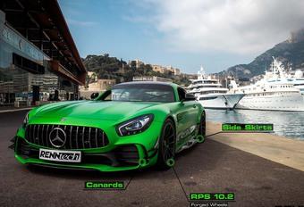 Mercedes-AMG GT-R : 7 min 04 s sur le Nürburgring #1