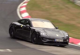 Porsche Taycan : toujours avec de faux échappements #1