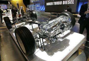 Subaru : fin prévisible du Diesel #1