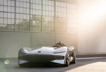 Infiniti Prototype 10 is elektrische speedster in jaren 50-stijl #1