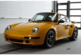 Porsche 911 Project Gold : 2,7 millions pour une bonne œuvre #1