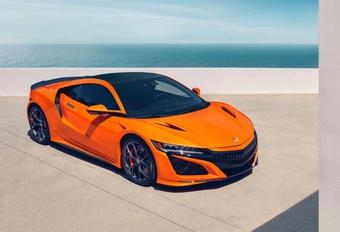 Honda NSX : nouveaux réglages et carrosserie orange #1