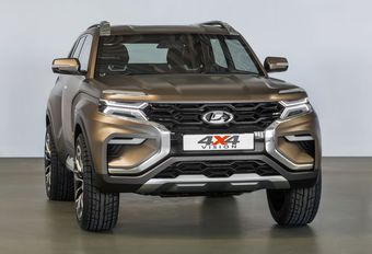 Salon de Moscou - Lada 4x4 Vision : Le futur Niva ? #1