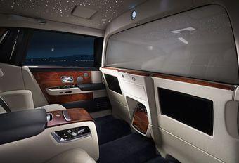 Rolls-Royce : salon privé à verre actif pour la Phantom EWB #1