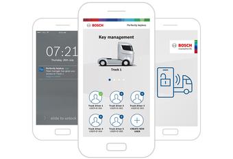 Bosch vervangt autosleutel door smartphone #1