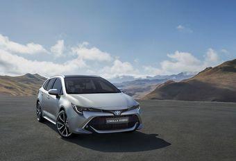 De breakversie van de Toyota Corolla heet Touring Sports #1