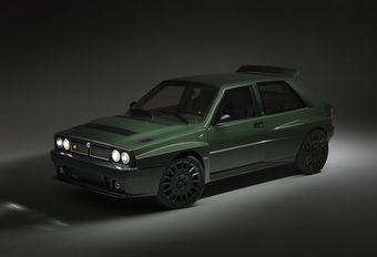 Lancia Delta Futurista : Integrale du XXIe siècle #1