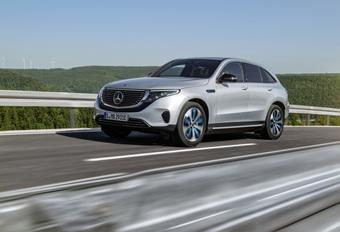 Mercedes EQC : la riposte électrique étoilée à 408 ch #1