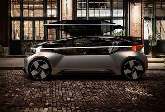 Volvo 360c rijdt elektrisch en autonoom #1