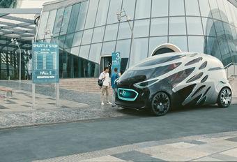 Mercedes Vision Urbanetic is knettergek mobiliteitsconcept #1