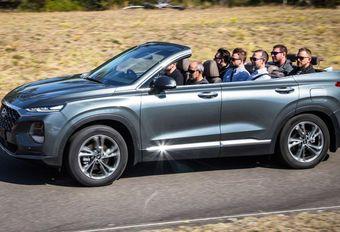 Hyundai Australie imagine le Santa Fe cabriolet #1