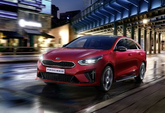 Kia Proceed s'habille en Shooting Brake #1