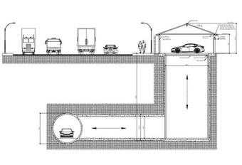 Boring Company sluit je garage rechtstreeks op tunnelnetwerk aan #1