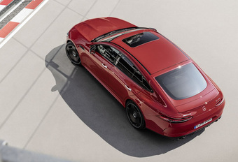 Mercedes-AMG GT 43 4-Door is slechts instapversie #1