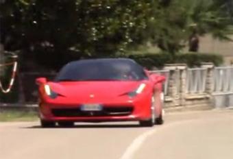 Ferrari test met hybrides? #1