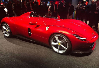 Ferrari Monza SP1  is Superfast #1