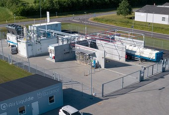 Koolstofarme waterstofproductie #1