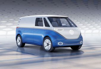 Volkswagen I.D. Buzz Cargo : Rétro-futuriste #1