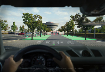 Augmented reality in de auto #1