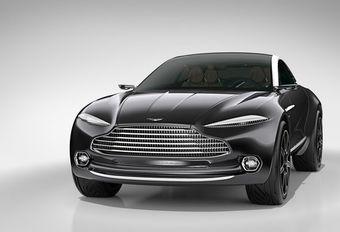 Aston Martin: 5.000 SUV's per jaar? #1