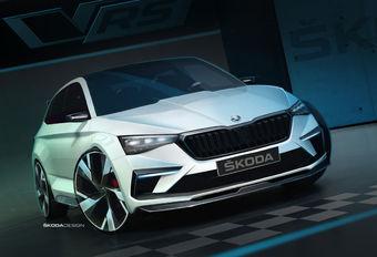 Skoda Vision RS wordt hybride hot hatch #1