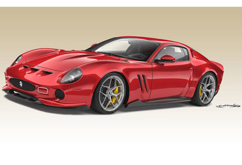 Ares Design 250 GTO sur base d'une Superfast #1