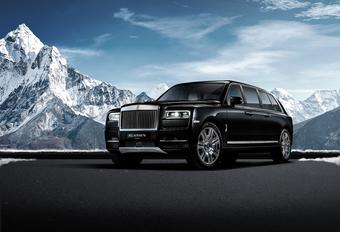 Duurder, duurst: gepantserde Rolls-Royce Cullinan limo van 2 miljoen #1